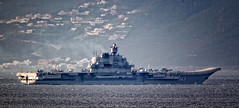 Admiral Kuznetsov transits the Strait of Gibraltar 20 Jan 2017 (David Parody) Tags: davidparodyfreelancephotographergibraltar