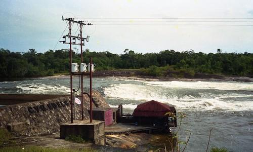 The Model Village had a small hydro electric plant