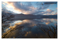 DERWENTWATER, LAKE DISTRICT. (Gregg Cashmore) Tags: lake lakedistrict sunset canon tree water clouds colour sky sigma