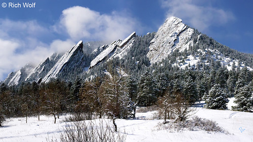 Photo - Frosted Flatirons - City of Boulder Open Space and Mountain Parks