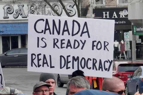 Guelph Rally on Electoral Reform