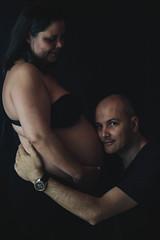 _MG_2900 (Michael Christian Parker) Tags: black background faded familia fotografia pregnant holyfamily love ensaiosfotográficos michaelcparker homestudio estudio photography