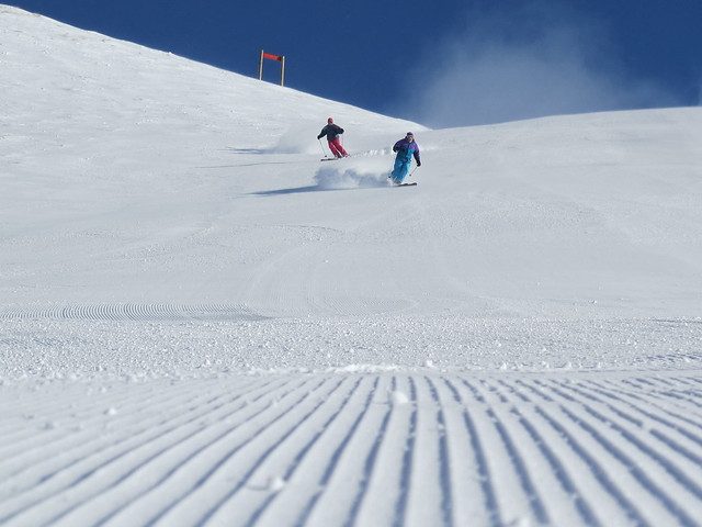 Saddle Back with Evelyne & Peter Albrecht - Treble Cone, Wanaka NZ (21.8.2014)