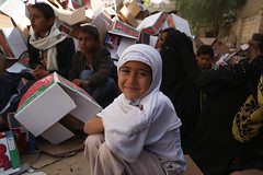 Sana'a food distribution