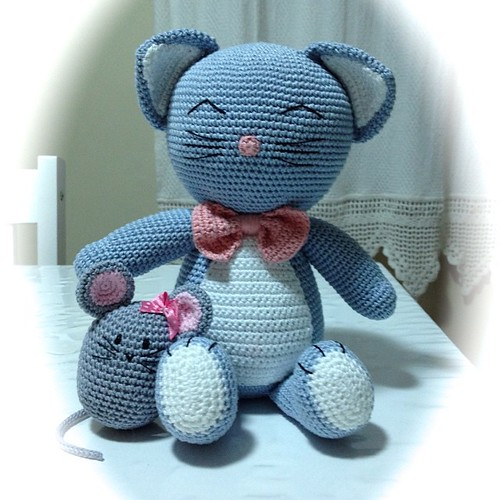 gatito – Amigurumi Patterns | 500x500