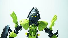Takut - Bionicle MOC (Takoiwari Productions) Tags: black green lego bionicle epic moc