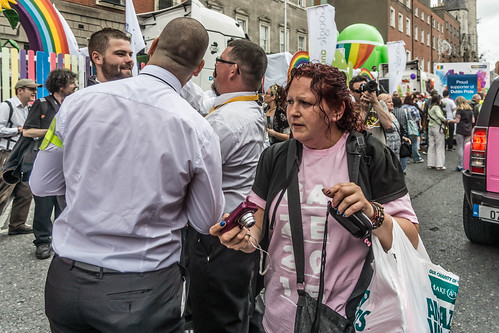 DUBLIN 2015 GAY PRIDE FESTIVAL [BEFORE THE ACTUAL PARADE] REF-106255