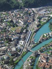 Looking down on Interlaken (DaveAFlett) Tags: switzerland viewpoint interlaken berneseoberland harderkulm