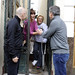 Mauricio Macri y Rodriguez Larreta con vecinos de Palermo
