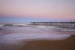 No Reasons Necessary (karenhunnicutt) Tags: sunset art beach photography northcarolina roadtrip shore dreamy atlanticocean softcolors nagsheadpier karenhunnicutt karenmeyer karenhunnicuttphotographycom minneapolisfineartphotographer