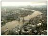Rain spots on my view (Audrey A Jackson) Tags: city london water towerbridge buildings river landscape view capital scene raindrops shard panasonicdmctz3 1001nightsmagiccity