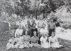 Norra ngby Folkskola, hjlpklass B, vrterminen 1938 (Olle Sundh) Tags: stockholm norra skola klass bromma svv skolfoto ngby folkskola skolbarn vultejusvgen