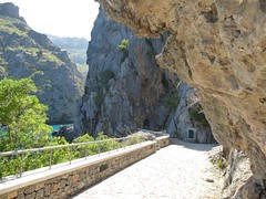 Sa Calobra, majorca (normskin1) Tags: sea sun mountains cycling holidays rocks tunnel sa mallorca majorca calobra cluffs tramuntanas