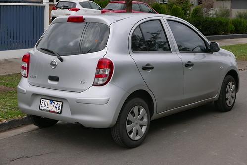 2012 Nissan Micra (K13 MY12) ST hatchback