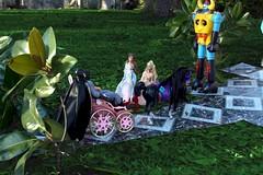 Paprihaven 0788 (MayorPaprika) Tags: horse castle set toy dc carriage princess barbie prince story diana wonderwoman batman 16 erika custom diorama direct brucewayne gaiking shogunwarrior canoneos50d anneliesse jumbomachineder