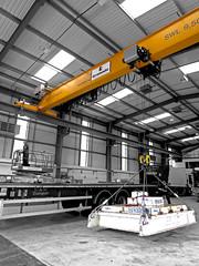 Load Test of an Overhead Crane