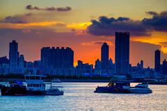 DSCF4161 (hil_lok) Tags: sunset hk fujifilm 香港 九龍 magichour kwuntong xt1 觀塘海濱公園