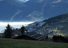 Combloux Le Mont Blanc Haute-Savoie 21-12-16c (mugicalin) Tags: combloux hautesavoie lemontblanc régionrhônealpes fujifilm fujifilmfinepixs1 paysage landscape