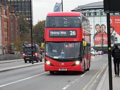 Buses in London (8th November 2016) (Tobytrainspotting13) Tags: tobytrainspotting13 london waterloo tuesday 8th november 2016 ctplus enviro 400 city 2502 sn16 ohr sn16ohr