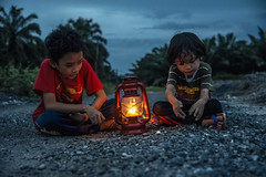 Family Photography | Boys With Lantern (wazari) Tags: wazari raphael wazariwazir anakku myson son blackandwhite hitamputih sepia vintage retro anaklelaki lelaki boy malaysia malaysiakid muslimkid cute love lovely ilovemyson mono monochrome classic nikon smile candid face wajah expression emotion emotional naturallight availablelight asia asean aseankid malay malaykid child children toddler alchemist naturallightphotography mood stunning art artistic photoshop artofediting portrait portraiture artofportraiture photoshopart texture anakmelayu arianna haiqal daughter mydaughter