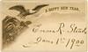 A Happy New Year, 1881 (Alan Mays) Tags: