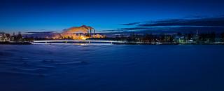 Pikisaarensilta in City of Oulu