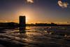 Sunset #Margate style. (@bill_11) Tags: margate themes weather england kent places sunset arlington light beach seaside dusk waves sea sand sun canon powershot uk