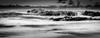 Turbulent (*ScottyO*) Tags: carrickalinga beach sa southaustralia australia fleurieu coast coastal shore waves water sea ocean rocks sky clouds blackandwhite bw monochrome longexposure panorama seascape turbulent tidal horizon movement motion