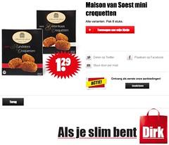 Maison van Soest - Dirk 2016 (CarnagerSDV) Tags: kroket croquet kroketten croquetten mini rundvlees deepfryer frituur produce goatcheese beef veal geitekaas geitenkaas groente kalfsvlees