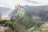 Mystic Castle (Fabian F_) Tags: burg eltz germany mosel deutschland castle fog morning sunrise sunrays morgen sonne nebel autumn herbst