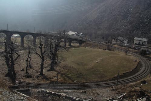 Brusio circular viaduct