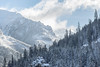 Polish mountains (_Maganna) Tags: winter mountains poland snow trees tree for sky outside outdoors clouds