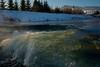 Frozen river (๑۩๑ V ๑۩๑) Tags: slovakia szlovakia slovensko eslovakia nováľubovňa ujlublo winter river cgurch village pueblo kampung rural countryside rio sungai frozen ice water folyo invierno december hivers nature outdoor