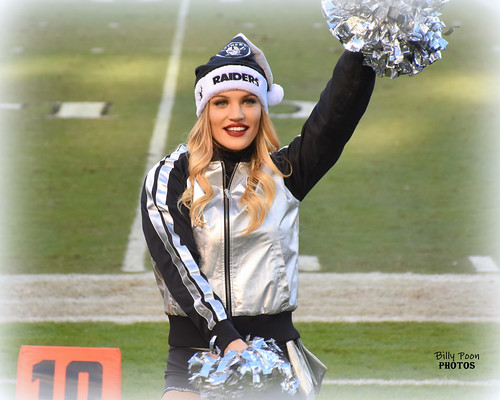 2016 Oakland Raiderette Jamie