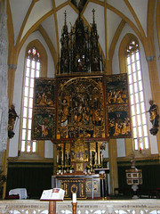 Heiligenblut, Gótikus szárnyasoltár (ossian71) Tags: ausztria austria österreich heiligenblut épület building műemlék sightseeing templom church oltár altar