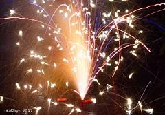 Rainy New Year's Eve (-macoy dela noche-) Tags: carlzeiss sel55f18za a7ii sonya7ii sony sonyalpha sonya7m2 sindi putukanna medianoche newyearseve celebration lights fountain fireworks welcoming2017 newyear