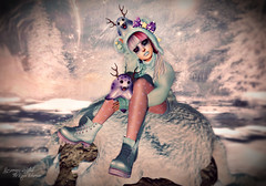 Winter Friends (Rosemaery Lorefield ♥ The Royal Bohemian) Tags: 2ndlevel atomic beauty catwa dselles events fashion mag3b pumec secondlife sl slink soy thechapterfour theprojectse7en veechi vibes vistaanimations whitequeen yokai