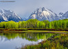morning light at Oxbow Bend (Cottage Days) Tags: grandtetonnationalpark wyoming nationalpark mountains trees reflection water spring landscape