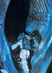 Behind the scenes of Alien (1979) (Tom Simpson) Tags: alien ridleyscott xenomorph 1979 1970s film movie behindthescenes vintage hrgiger spacesuit spaceship