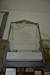 029-20160813_Abberley Norman Church-Worcestershire-Church entrance-memorial tablet to Henry Bromley (d.1837), wife Elizabeth (d.1821) (Nick Kaye) Tags: abberley worcestershire england church memorial