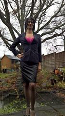 WP_20170116_10_20_02_Rich (Katie Savira) Tags: satinskirt sissy crossdresser secretary