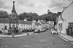 Cathedral Street, Dunkeld (aylmerqc) Tags: scotland dunkeld bw blackandwhite perthshire highlands