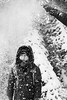 Great...again (portfolio.martin) Tags: forbach badenwürttemberg deutschland de blackandwhite young boy child snow winter forest raining falling fun silly angry mad shaking