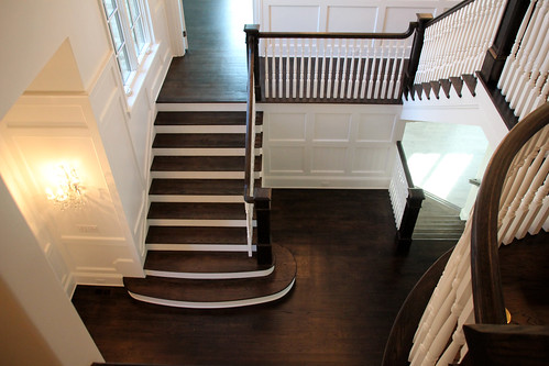 Andronx Craftsman Style Staircase and Trim