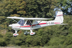 G-CJBE - 2015 build Comco Ikarus C42 FB80, inbound to Runway 26L at Barton (egcc) Tags: 15117427 barton bradbury c42 cityairport comco egcb fb80 gcjbe ikarus lightroom manchester microlight redaviation