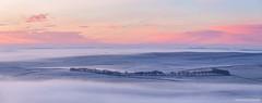 Sunrise from Mam Tor (marona-photography) Tags: castleton england unitedkingdom mamtor mist inversion sunrise derbyshire peakdistrict