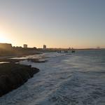 Am Strand von Port Elizabeth, Südafrika