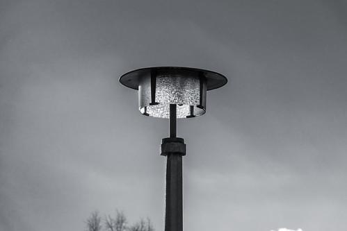 East Germany lamp post