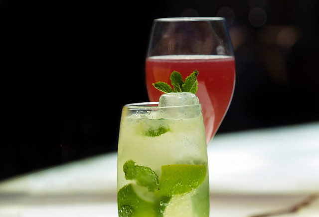 Cocktails for Cubania © Royal Opera House Restaurants 2015
