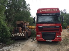 Iron fairy (South Strand Trucking) Tags: yard truck crane lorry 105 tompetty daf longdens